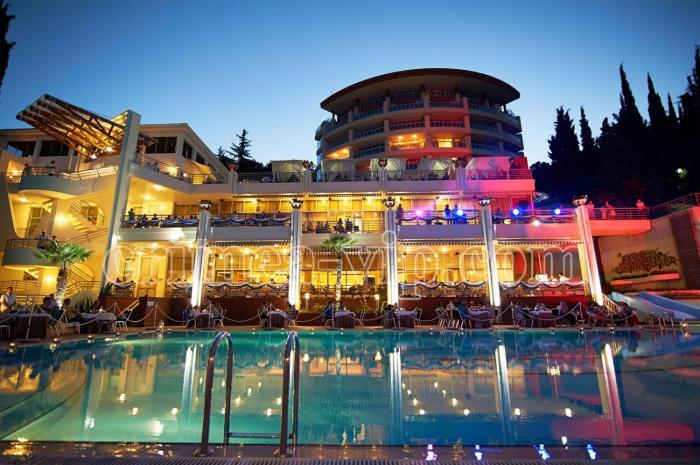 ЛОК-409. Wellness SPA отель Море Алушта.