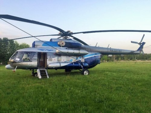 АВР-955. Вертолёт Ми-8МТВ VIP