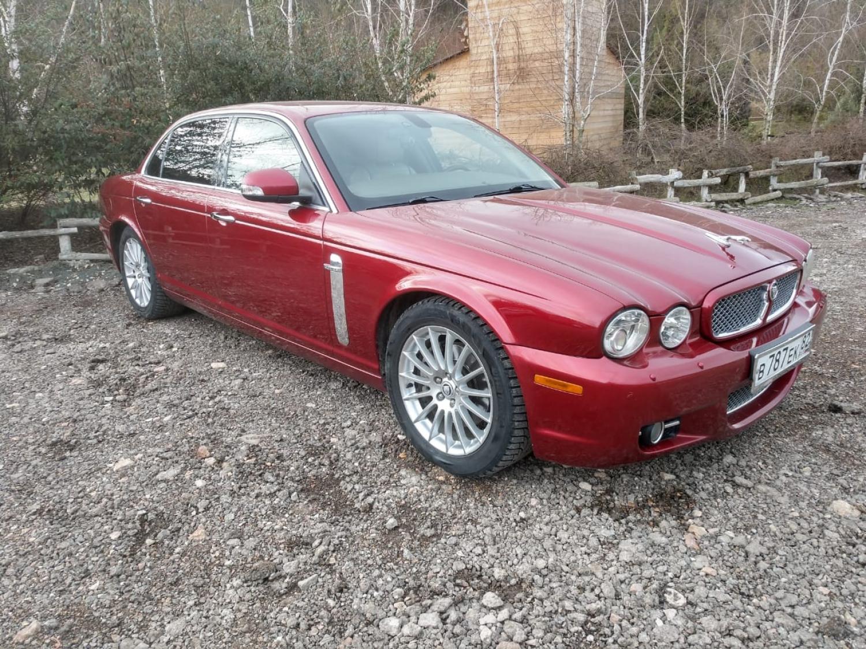 АМ-978. Прокат автомобиля Jaguar XJ X358