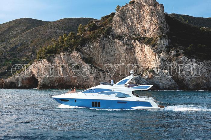 АЯ-919. Моторная яхта Azimut 60