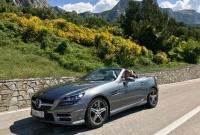 АМ-961. Прокат автомобиля Mercedes Benz SLK 300