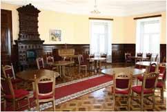 каминный зал во дворце Кузнецова